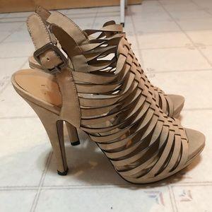 🔥2/$40🔥 Aldo Tan Caged Sandals